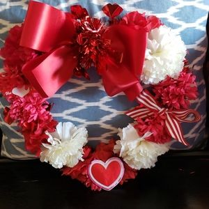 Handcrafted VALENTINE'S Wreath